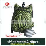 Easy Life Manufacturers China Waterproof Foldable Backpack with High Quality for Shopping