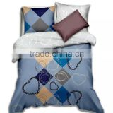 New Chinese Style Duvet Cover Set Polyester King Size