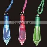 Led Light Diamond shape necklace for advertising and promotion