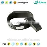 Hot selling Vidonn X6S IP68 USB charging step counter calorie burnt free APP Android iOS compatible shenzhen smart bracelet