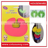 Child safety door guard/EVA door stopper/baby safety products
