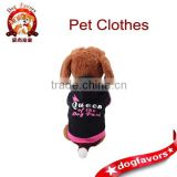 2015 new cotton hooded casual cute pet supplies pet dog clothes wholesale clothing trends