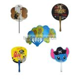 Cheap give away custom logo branded PP plastic hand Fan for advertisement promotional gift                                                                                         Most Popular