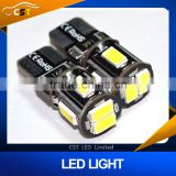 T10 Canbus bulb 194 168 W5W 5630 5730 6LED SMD Car Side Wedge Light Bulb Error Free Auto Car clearance light