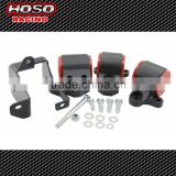 Hoso racing Engine Replacement Swap Motor Mount Kit 3 Bolt Left Mount For Honda Civic 96-2000 EK Motor Mounts Kit