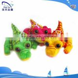 plush animals big eyes crocodile/keychain crocodile child toy/wholesale stuffed toys for promotion