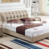 modern new style indian double bed designs, princess simple stylish wooden double bed for sale