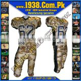 Camo Uniform Sublimation custom american football jersey/american football jersey/white american football jersey