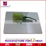 Alucoworld light weight prefab aluminum plastic sheets for interior wall decorative acm panel