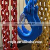 2015 color painted cargoand container lifting chain with eye grab hook