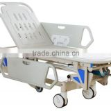 Aluminum medical stretcher Emergency hospital stretcher trolley with wheels