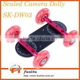 Sevenoak SK-DW03 Scaled Camera Dolly Stabilizer Tripod Wheel Truck Tractor 5KG Capacity For Video DSLR Camera
