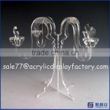 Acrylic Candlesticks for wedding / acrylic candelabra votive wine bottle tealight candle holder