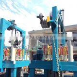 130 Series 24 spindles round rope braiding machine used for security line/sports accessories/CE