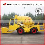 jining direct products factory mobile concrete mixer truck composition from wolwa direct factory