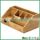 FB9-1048 Multi-function bamboo office stationery product                                                                         Quality Choice