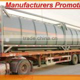 DTA 20ft, 40ft Chemical ISO Tank Container for HCI,NaOH 32%,NaCl. NaClO Tom King:86-15271357675 manufacturer