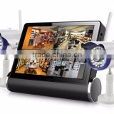 Looline Smart Outdoor CCTV Wireless Camera 7Inch Big LCD Screen Security Camera With SIM Card