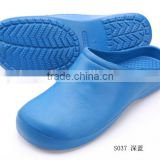 stylish eva surgical shoes,safety rubber doctor slipper