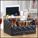 Creative multi function equisite leather household paper bo KTV European desktop storage tissue bo wholesale custom