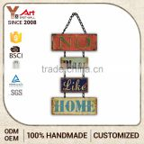 High Quality Direct Factory Price Custom Fit Inspirational Wall Plaques Blank Wood Sign                                                                         Quality Choice
