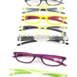 Cheapest Slim reading glasses with PVC cases.