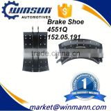 OEM NO 152.05.191 Truck Cast Iron Brake Shoe