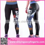 Costume fashion sports style fitness knee yoga leggings
