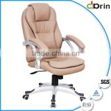 Cheap brown soft leather office chair china supplier