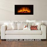 wall electric fireplace with led light with 10 colors of flame effect optional
