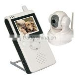 "601LD 2.5"" LCD Wireless Pan and Tilt Control Baby Monitor with NTSC TV System"