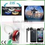 mobile phone photography camera lens 235 degree super fisheye lens for Huawei P8 max iPhone 6 Plus Samsung Galaxy S6 Egde