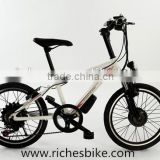 20 inch 250w cruise electric bicycle mountain electric bike for young children(Model SMT400U)