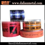 Aluminum Clear Refective Barrier Warning Tape for Safety Purpose