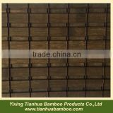 Bamboo sliding door in hand crafted
