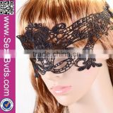 Sexy Black Lace Eye Mask Masquerade Ball Prom Halloween Costume Party Mask