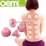 silicone cupping natural tools female body deep tissue massage for removing cellulite weight reduction neck,back                                                                         Quality Choice