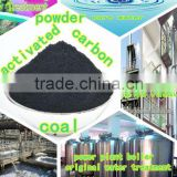 Coal based powder activated carbon as filter material for swimming pool