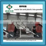 Dingfeng Brand tyre recycling machine/waste tire shredding machine/waste tyre cutting machine