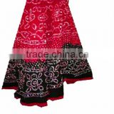 Ethnic Tie and dye Skirt with sequins Jaipur Bandhani skirt Indian skirt