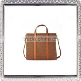 Genuine Leather and Fabric men bag leather messenger branded hand bags for women bags made of leather