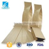 Eco friendly custom kraft paper bag for baguette bread