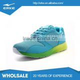 ERKE wholesale dropshipping brand fashion graded color outsole mens sports running shoes