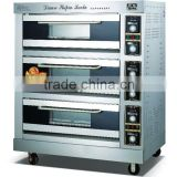 Inquiry about electric bakery deck oven bread making machine(3 decks 6 trays)