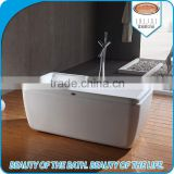Hot sale indoor simple bathtub bathroom bath tub