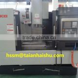 linear guide VMC800 CNC horizontal cnc machining center with CE certification The factory manufacturing price