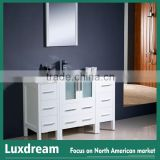 28 inch House design bathroom vanity with double side cabinet