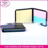custom printing office memo pad, fridge magnet sticky note pad, promotional sticky notes