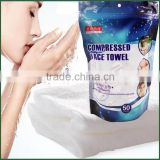 JIEYA alibaba China manufacturer and supplier production skin care wholesale compressed magic travel towel tissue sheet