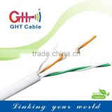 GHT Factory wholesale price 2 pair telephone cable 305m CCA network cable